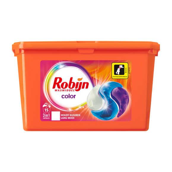 Robijn Wasmiddel capsules color 3-in-1 product photo