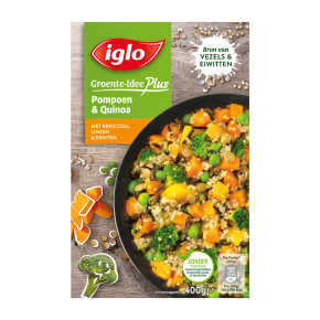 Iglo Groente-Idee Plus Pompoen & Quinoa product photo