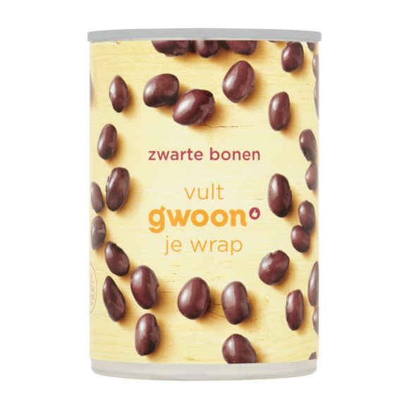 g'woon Zwarte bonen product photo