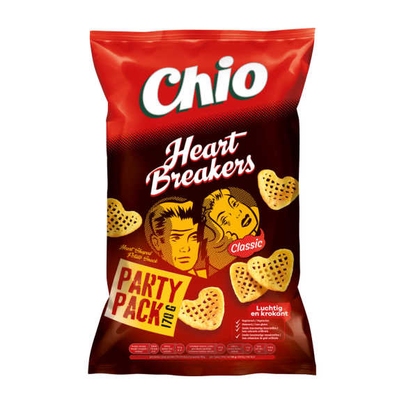 Chio Heartbreakers party pack chips product photo