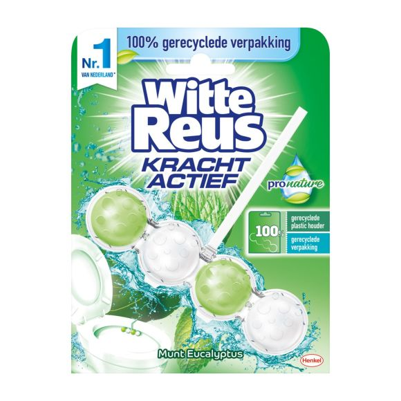 Witte Reus Toiletblok pro nature munt product photo