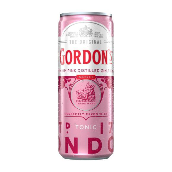 Gordon's Pink gin tonic product photo
