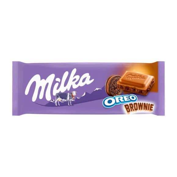 Milka Oreo brownie product photo