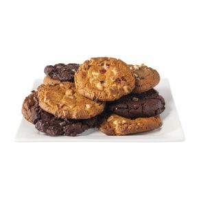Double choco cookie product photo