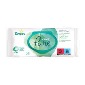 Pampers Aqua Pure Babydoekjes product photo