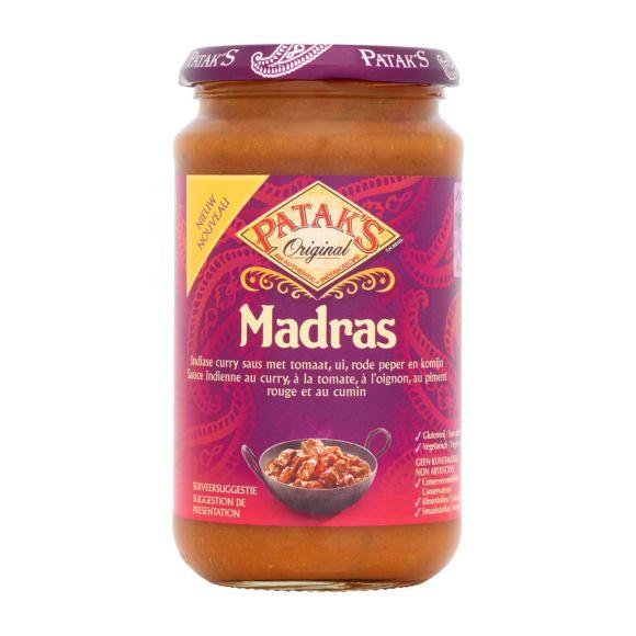 Patak's Curry saus madras product photo