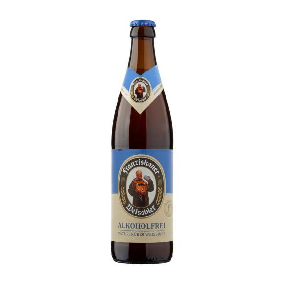 Franziskaner Weissbier Alcoholvrij bier flesje product photo