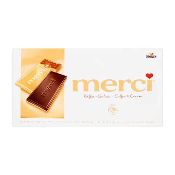 Merci Tablet coffee cream product photo