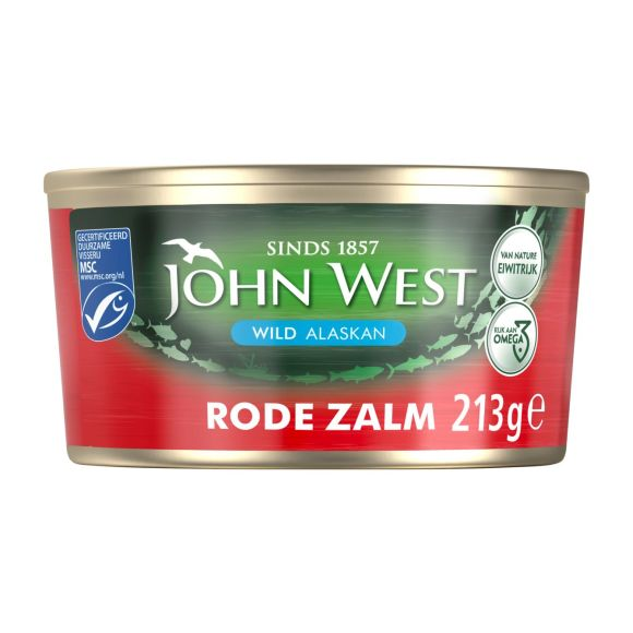 John West Rode zalm product photo