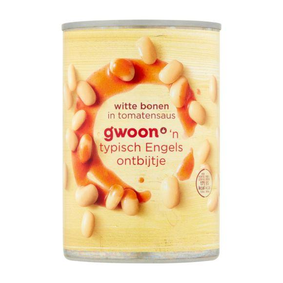 g'woon Witte bonen in tomatensaus product photo
