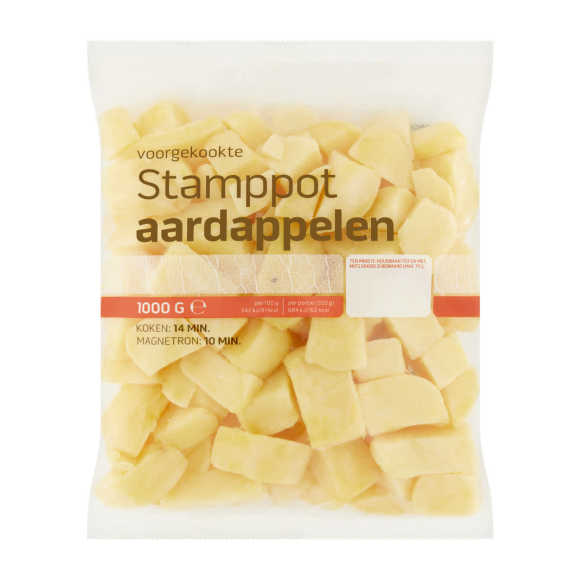 Stamppotaardappelen product photo