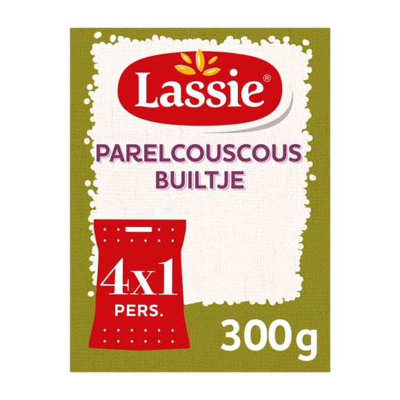 Lassie Parelcouscous builtjes product photo