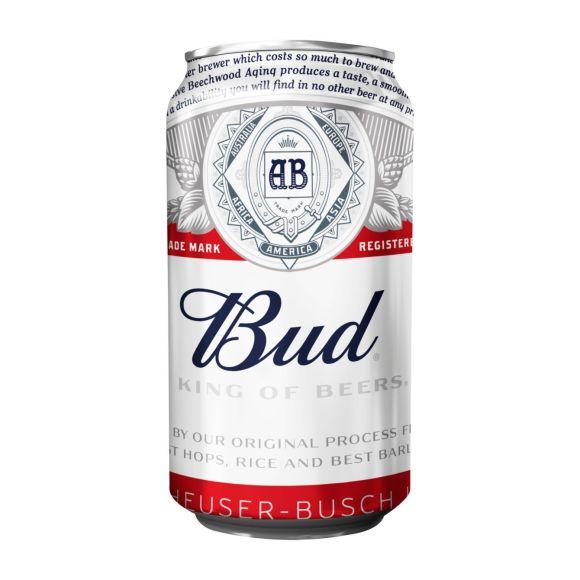 Bud pils blik 33 cl product photo