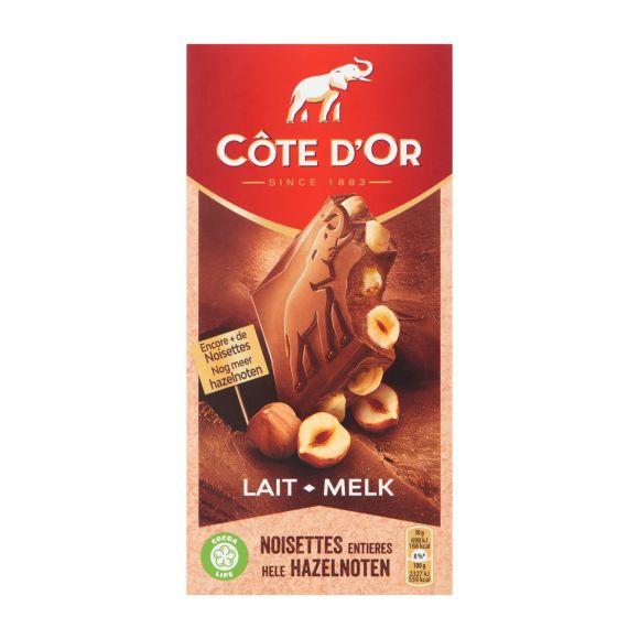 Cote d'Or Bloc melk hele noot product photo
