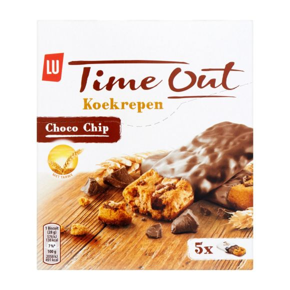 LU Time Out koekrepen choco chip product photo