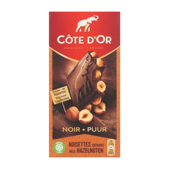 Côte d'Or chocoladetablet puur hazelnoot product photo