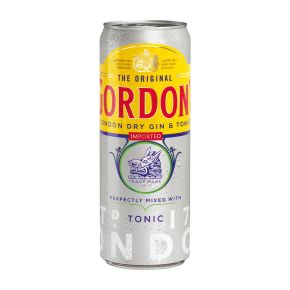 Gordon's London dry gin & tonic blik product photo