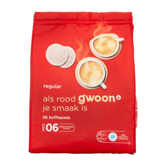 g'woon Koffiepads regular product photo