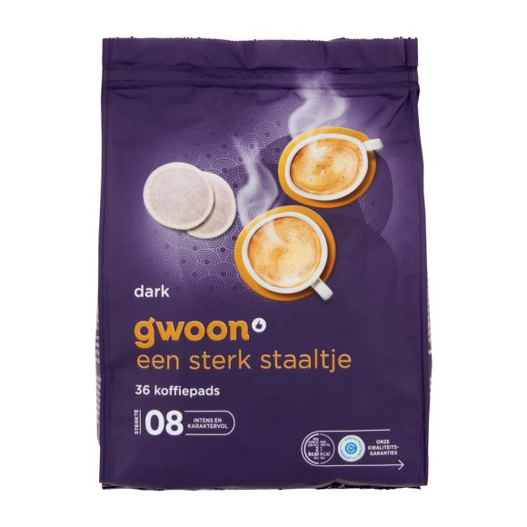 g'woon Koffiepads dark product photo