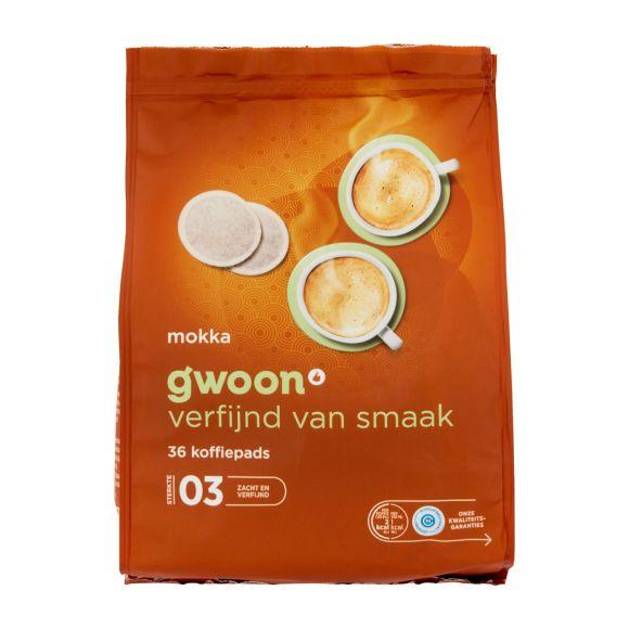 g'woon Koffiepads mokka product photo