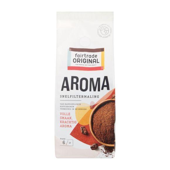 Fairtrade Original Aroma koffie snelfiltermaling product photo