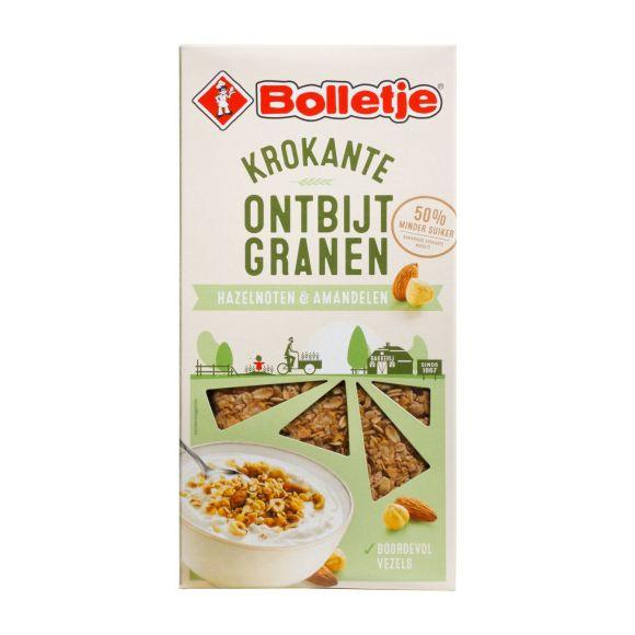 Bolletje Krokante ontbijtgranen hazelnoten & amandelen product photo