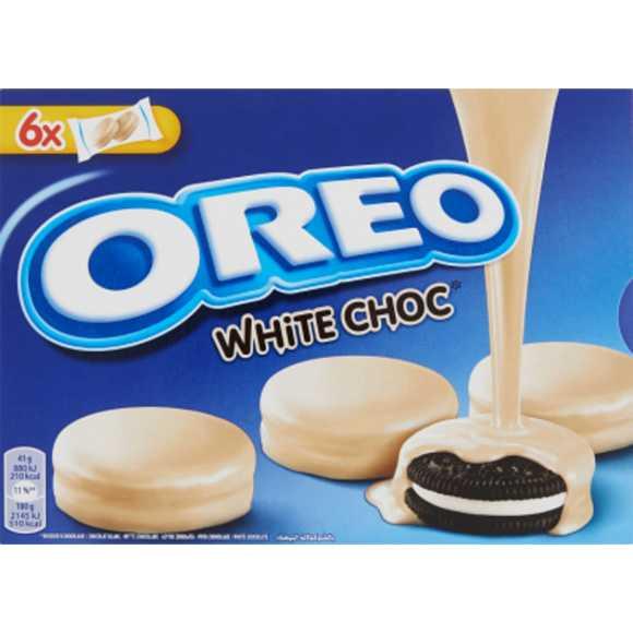 Oreo Koekjes omhuld met witte chocolade 6-pack product photo