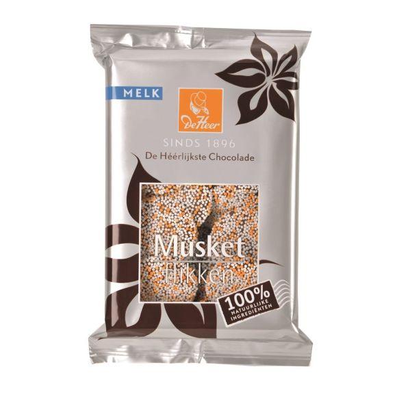 De Heer chocolade musket flikken melk product photo