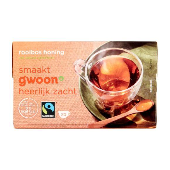 g'woon Rooibosthee honing 20 stuks product photo