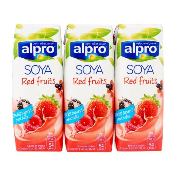 Alpro Sojadrink rode vruchten product photo