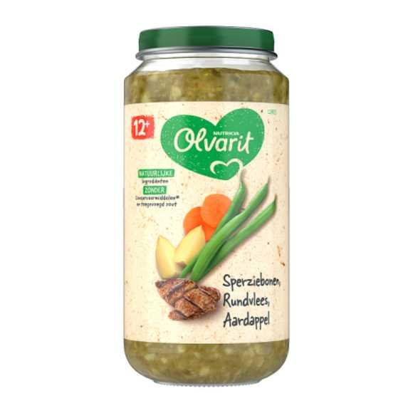 Olvarit Sperziebonen rundvlees aardappel 12+ maanden product photo