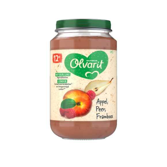 Olvarit Appel peer en framboos 12+ maanden product photo