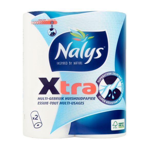Nalys Xtra multi-gebruik huishoudpapier 2 rollen product photo