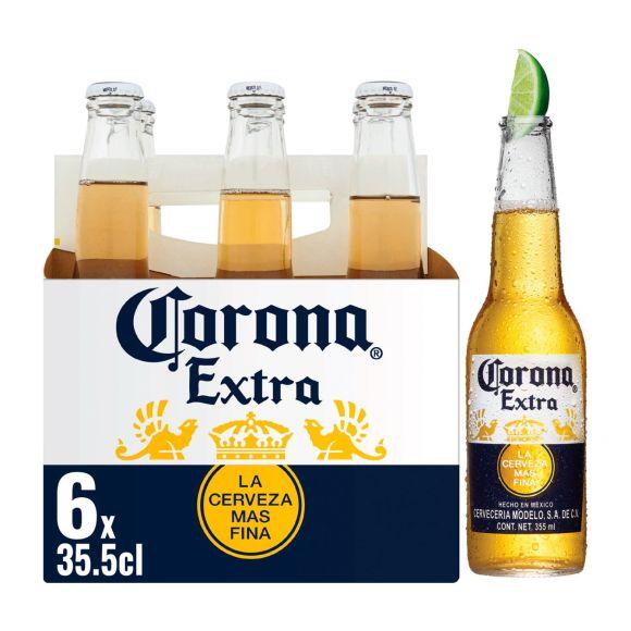 Corona Mono bier fles 6 x 35,5 cl product photo
