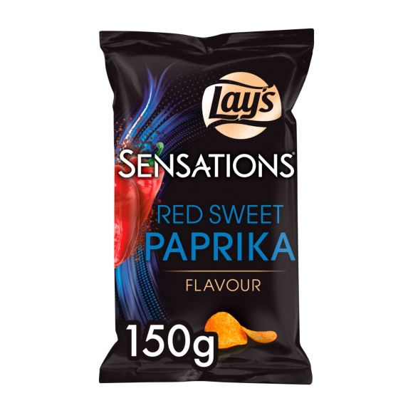 Lay's Sensations red sweet paprika chips product photo