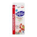 Optimel Drinkyoghurt Framboos 0% Vet 1500 ml Pak met punt product photo