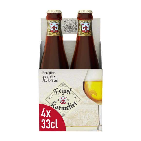 Tripel Karmeliet Belgisch Speciaalbier Flessen 4 x 33 cl product photo
