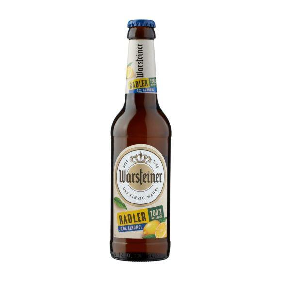 Warsteiner Radler 0.0% citroen bier product photo