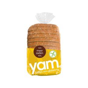 YAM Glutenvrij licht meerzaden brood product photo