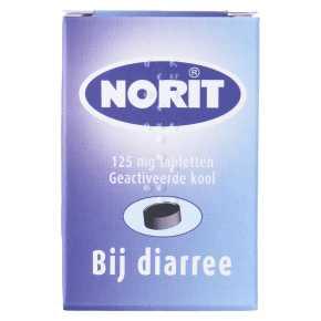 Norit Diarreeremmers Tablet 50 st product photo