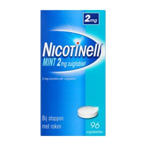 Nicotinell Mint zuigtabletten 2 mg product photo