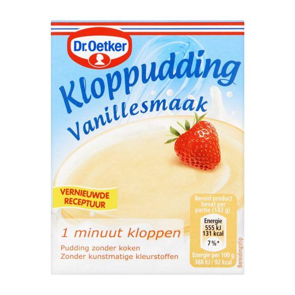 Dr. Oetker Kloppudding vanille product photo