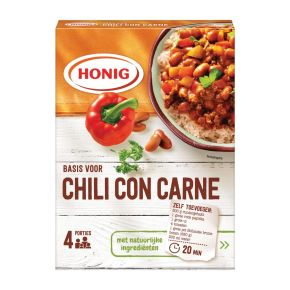 Honig Mix Basis voor Chili con Carne 42 g Doos product photo