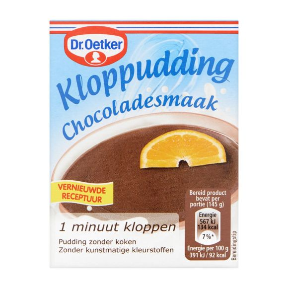 Dr. Oetker Kloppuding chocolade product photo
