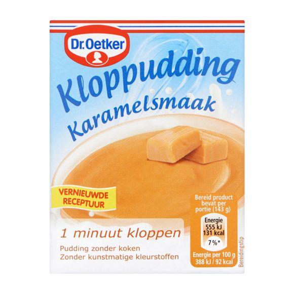 Dr. Oetker Kloppuding caramel product photo