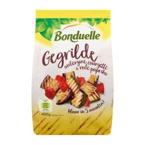 Bonduelle Gegrilde aubergine, courgette & rode paprika product photo