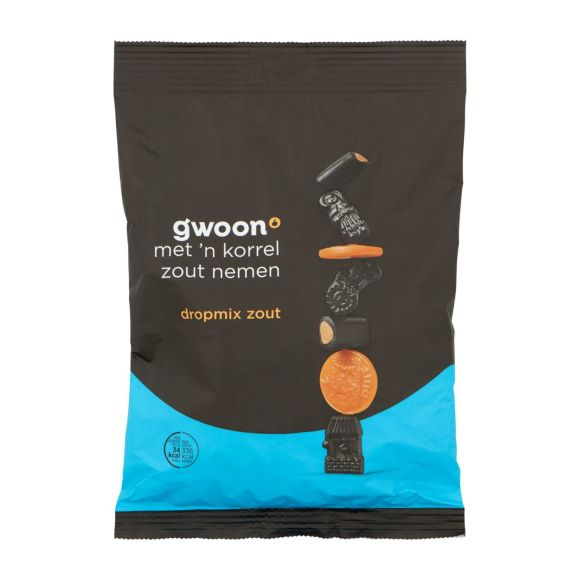 g'woon Dropmix zout product photo