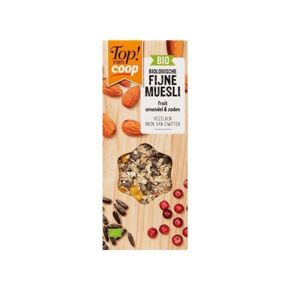 Top! van Coop Fijne muesli amandel & zaden product photo