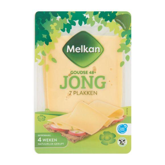 Melkan Jonge 48+ kaas plakken product photo