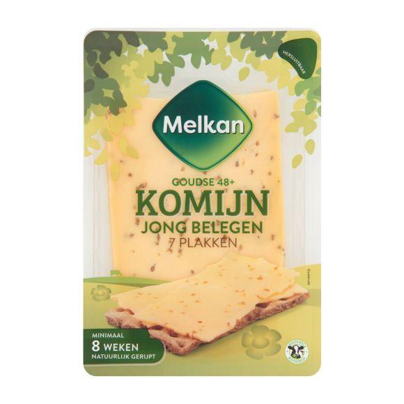 Melkan Jong belegen 48+ komijn kaas plakken product photo